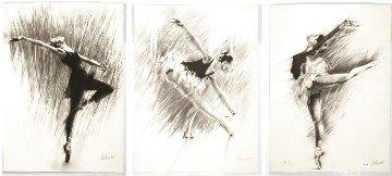 Ballerina Suite of 3 1988 Limited Edition Print - Aldo Luongo