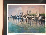 Fishing Harbor PP Limited Edition Print by Aldo Luongo - 2