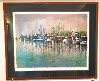 Fishing Harbor PP Limited Edition Print by Aldo Luongo - 1