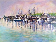 Fishing Harbor PP Limited Edition Print by Aldo Luongo - 0