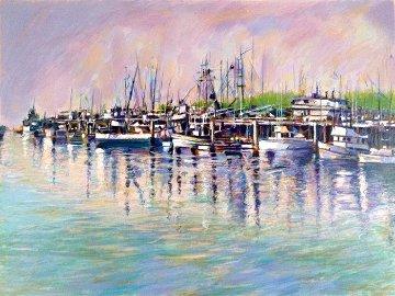 Fishing Harbor PP Limited Edition Print - Aldo Luongo