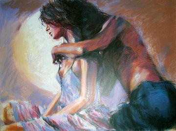 Lovers Limited Edition Print by Aldo Luongo