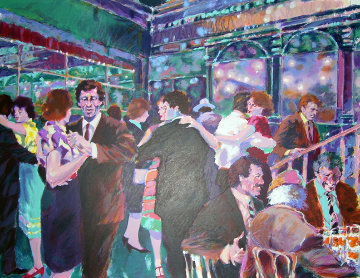 Glass Palace 1985 30x38 Super Huge  Limited Edition Print - Aldo Luongo