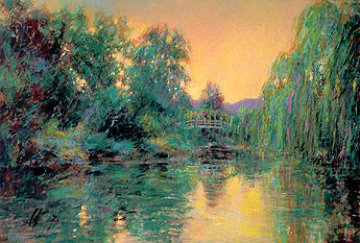Homage to Monet 1987 Limited Edition Print by Aldo Luongo
