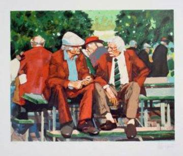 Conversation 1988 Limited Edition Print - Aldo Luongo