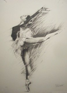 Ballerina Suite of 3 Lithographs Limited Edition Print - Aldo Luongo