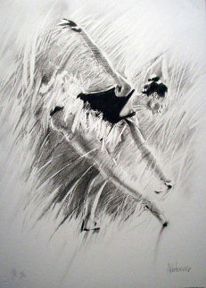 Ballerina Suite of 3 1989 Limited Edition Print - Aldo Luongo