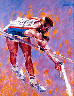 High Flyer 1980 Limited Edition Print - Aldo Luongo