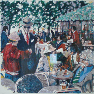 Cafe Tortoni 1981 Limited Edition Print - Aldo Luongo