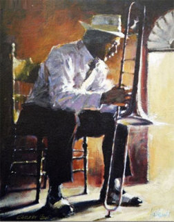 New Orleans Blues Limited Edition Print - Aldo Luongo