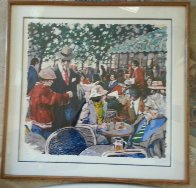 Cafe Tortoni 1981 Limited Edition Print by Aldo Luongo - 1