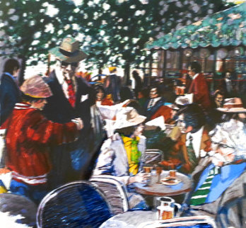 Cafe Tortoni 1981 Limited Edition Print - Aldo Luongo
