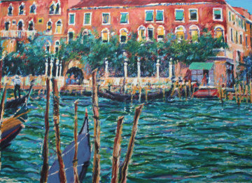 Springtime in Venice Limited Edition Print by Aldo Luongo