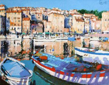 European Port Limited Edition Print by Aldo Luongo