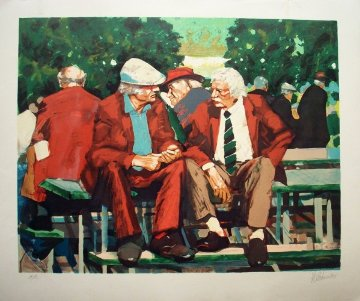 Conversation 1989 Limited Edition Print by Aldo Luongo