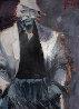 Last Days of 44 1995 41x52 Original Painting by Aldo Luongo - 0