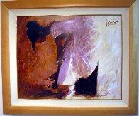 Ballerina 28x35 Original Painting by Aldo Luongo - 1