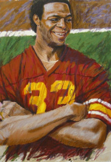 Marcus Allen Limited Edition Print by Aldo Luongo