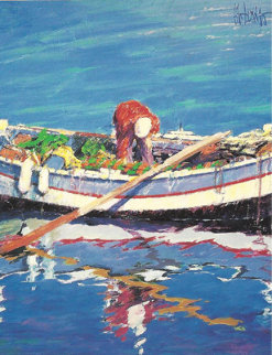 Fishing Day 1991 Limited Edition Print by Aldo Luongo