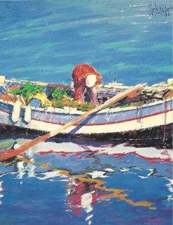 Fishing Day 1991 Limited Edition Print - Aldo Luongo