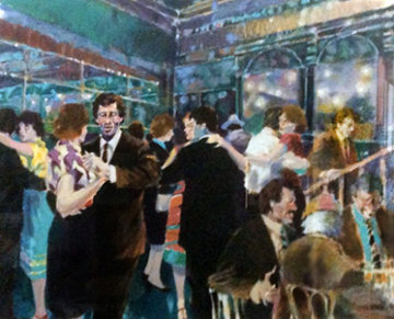 Tango At the Glass Palace 1987 Limited Edition Print - Aldo Luongo