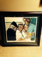 Hawk and Brothers 1984 Limited Edition Print by Aldo Luongo - 1