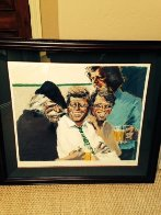 Hawk and Brothers 1984 Limited Edition Print by Aldo Luongo - 2