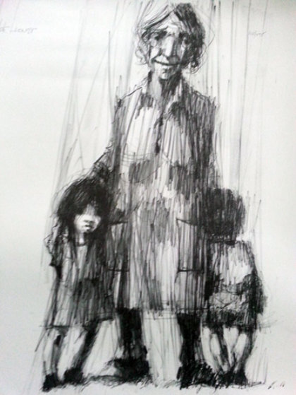 Grandmother 1970 Limited Edition Print by Aldo Luongo
