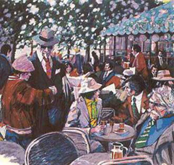 Cafe Tortoni Limited Edition Print by Aldo Luongo