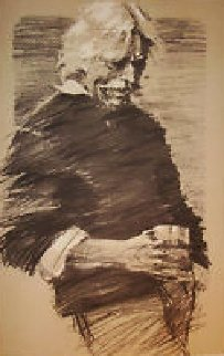 Work Goes On 1981 (Hawk) Limited Edition Print - Aldo Luongo