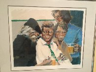 Hawk And the Brothers 1984 Limited Edition Print by Aldo Luongo - 1