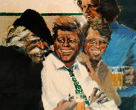 Hawk And the Brothers 1984 Limited Edition Print by Aldo Luongo - 0