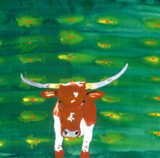 Portrait of a Cow 2006 Limited Edition Print - John Lurie