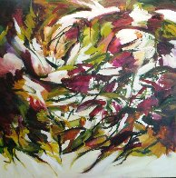 Spring Symphony 2014 36x36 Original Painting by Lydia Miller - 1