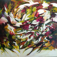 Spring Symphony 2014 36x36 Original Painting by Lydia Miller - 0