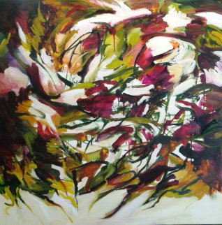 Spring Symphony 2014 36x36 Original Painting by Lydia Miller
