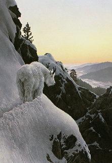 High Trail At Sunset 1986 Limited Edition Print - Stephen Lyman