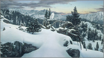 Early Winter in the Mountains AP Limited Edition Print by Stephen Lyman