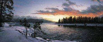 Last Light of Winter 1989 Limited Edition Print - Stephen Lyman