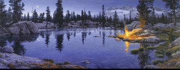 Moonfire 1994 Limited Edition Print - Stephen Lyman