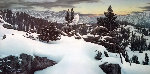Early Winter in the Mountains  1983 Limited Edition Print - Stephen Lyman
