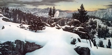 Early Winter in the Mountains  1983 Limited Edition Print by Stephen Lyman