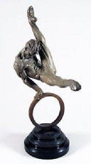 Gymnast 1/3 Life Bronze Sculpture 1995 35 in Sculpture by Richard MacDonald