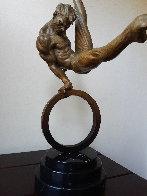 Gymnast Bronze Sculpture 25 in Sculpture by Richard MacDonald - 1