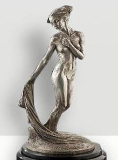 Daybreak Platinum Sculpture 27 in Sculpture - Richard MacDonald