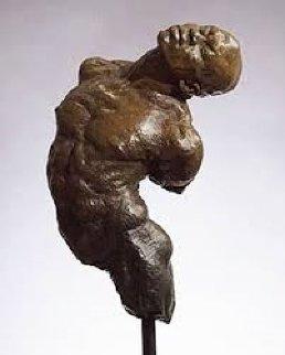 Latin Torso Bronze Sculpture 18 inches Sculpture - Richard MacDonald