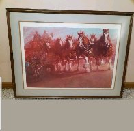 Anheuser - Bush Clydsdales 1981 Limited Edition Print by Richard MacDonald - 1