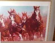Anheuser - Bush Clydsdales 1981 Limited Edition Print by Richard MacDonald - 6