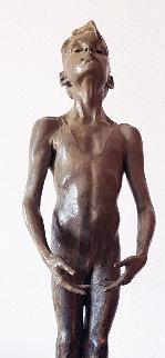 First Position Attitude Bronze Sculpture 1994 29 in Sculpture - Richard MacDonald