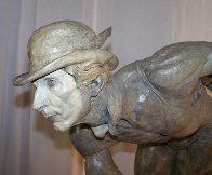 Rain Half Life Bronze Sculpture 1996 36 in Sculpture by Richard MacDonald - 3